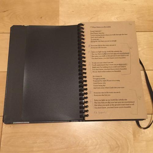 リヒトラブのノートブックLの写真