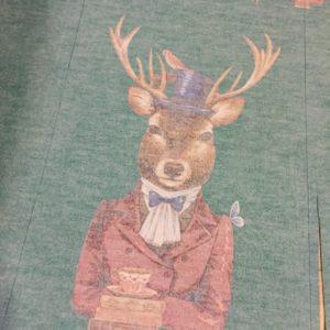 お太鼓の鹿
